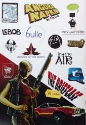 Verso de Free Comic Book Day 2013 - Le Comic Book volume 2 - Bandes dessinées par des artistes amateurs et professionnels