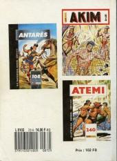 Verso de Capt'ain Swing! (1re série) -Rec072- Album N°72 (du n°246 au n°248)