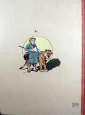 Verso de Bécassine -17- Bécassine fait du scoutisme