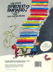 Verso de Spirou et Fantasio -6d84- La corne de rhinocéros