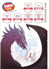 Verso de Free Comic Book Day 2014 - Le Comic Book volume 3 - Bandes dessinées par des artistes amateurs et professionnels