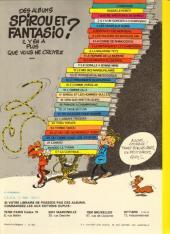 Verso de Spirou et Fantasio -9d81- Le repaire de la murène