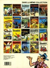 Verso de Sammy -5b1987- Le gorille à huit pattes