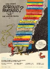Verso de Spirou et Fantasio -10d80- Les pirates du silence
