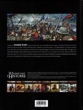 Verso de Ils ont fait l'Histoire -14- Jeanne d'Arc