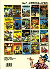 Verso de Sammy -15a1986- Les gorilles à Hollywood