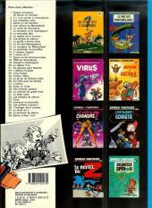 Verso de Spirou et Fantasio -11d87- Le gorille a bonne mine