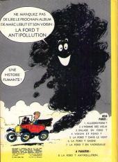 Verso de Marc Lebut et son voisin -7-  La Ford T en vadrouille