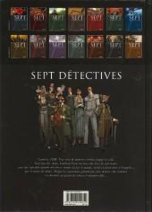 Verso de Sept -13a15- Sept détectives