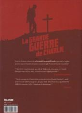 Verso de La grande Guerre de Charlie -10- La der des ders
