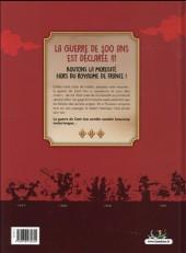 Verso de La guerre de 100 ans - 1337-1453