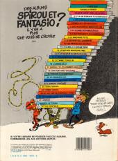 Verso de Spirou et Fantasio -14e84- Le prisonnier du Bouddha