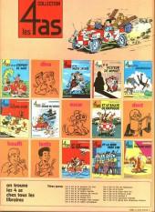 Verso de Les 4 as -13a1977- Les 4 as et la bombe f