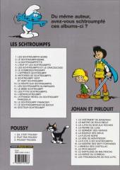 Verso de Les schtroumpfs -1d06- Les Schtroumpfs noirs