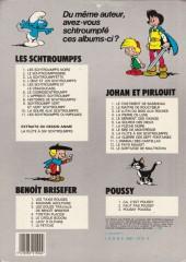 Verso de Les schtroumpfs -3b83a- La Schtroumpfette