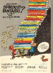 Verso de Spirou et Fantasio -15d80- Z comme Zorglub