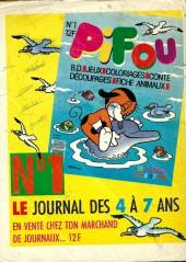 Verso de Pif (Gadget) -953- La pêche au gros