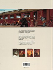 Verso de Le train des Orphelins -1a- Jim