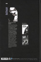 Verso de Batman : Black & White -1- Volume 1
