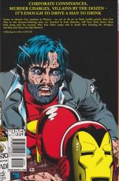 Verso de Iron Man Vol.1 (Marvel comics - 1968) -INTa- Demon in a bottle