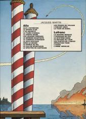 Verso de Lefranc -2b1982- L'ouragan de feu