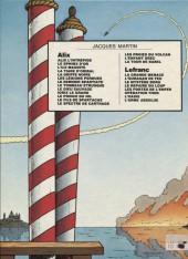 Verso de Lefranc -3b1982- Le mystère Borg