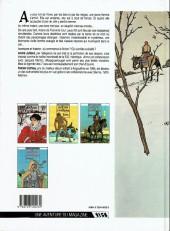 Verso de Les 7 Vies de l'Épervier -1b1989- La blanche morte