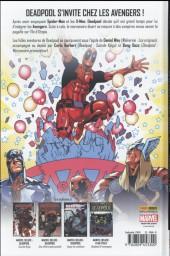 Verso de Deadpool (Marvel Deluxe) - Je Suis Ton Homme