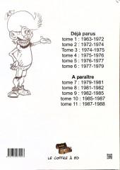 Verso de Génial Olivier -INT04- Intégrale volume 4 : 1975-1976