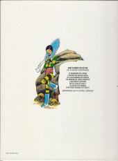 Verso de Le vagabond des Limbes -3a1982- Les charognards du cosmos