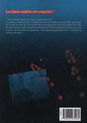 Verso de Revenge Classroom -5- Tome 5