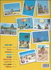 Verso de Iznogoud -3h13- Iznogoud et les vacances du Calife