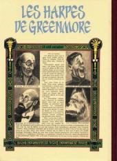 Verso de Tintin - Pastiches, parodies & pirates -3b- les harpes de Greenmore