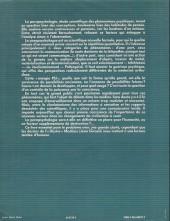 Verso de (AUT) Giraud / Moebius - La parapsychologie et vous