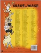 Verso de Suske en Wiske -89- De dolle musketiers