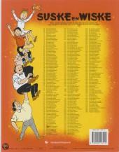 Verso de Suske en Wiske -92- De briesende bruid
