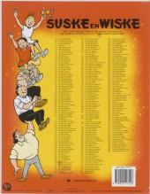 Verso de Suske en Wiske -93- De snorrende snor