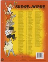 Verso de Suske en Wiske -94- De sissende sampan