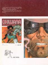 Verso de Chiwana -1- De la poussière et des larmes
