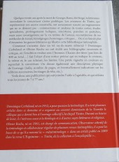 Verso de Tintin - Divers -TT- Tintin, bibliographie d'un mythe