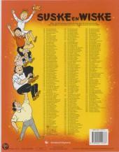 Verso de Suske en Wiske -110- De zingende zwammen