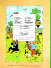 Verso de Tintin (Historique) -17B40- On a marché sur la lune