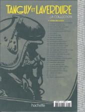 Verso de Tanguy et Laverdure - La Collection (Hachette) -1test- L'École des Aigles