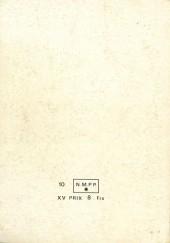 Verso de Strange -Rec039- Album N°39 (du n°116 au n°118)