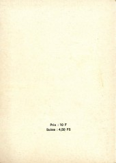 Verso de Strange -Rec047- Album N°47 (du n°140 au n°142)