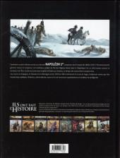 Verso de Ils ont fait l'Histoire -13- Napoléon - Tome 3/3