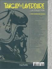 Verso de Tanguy et Laverdure - La Collection (Hachette) -2test- Pour l'honneur des cocardes