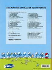 Verso de Les schtroumpfs -34- Les schtroumpfs et le demi-génie