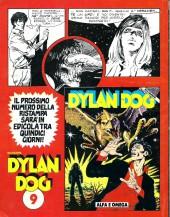 Verso de Dylan Dog (en italien) -8- Il ritorno del mostro