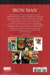 Verso de Marvel Comics : Le meilleur des Super-Héros - La collection (Hachette) -6- Iron Man